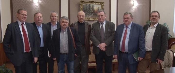 МПГУ встретил известных гостей