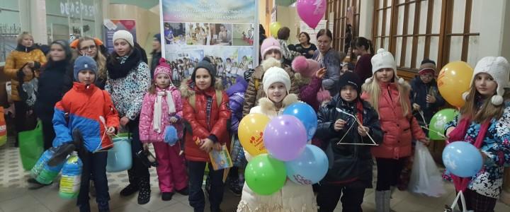 22 января в ИФТИСе прошел 9-й Московский Фестиваль «Шире круг, Маленькие и Находчивые!»