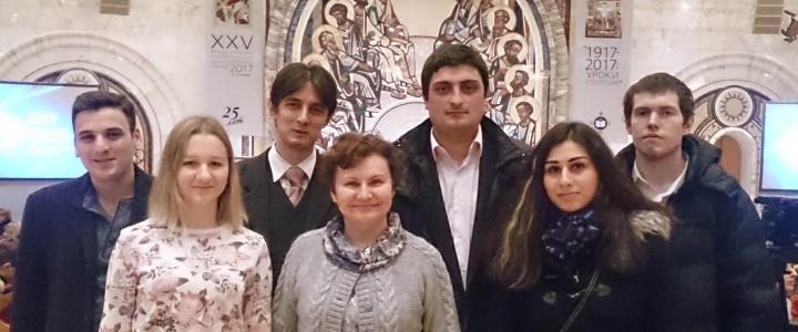 Студенты ИБХ посетили Рождественские чтения
