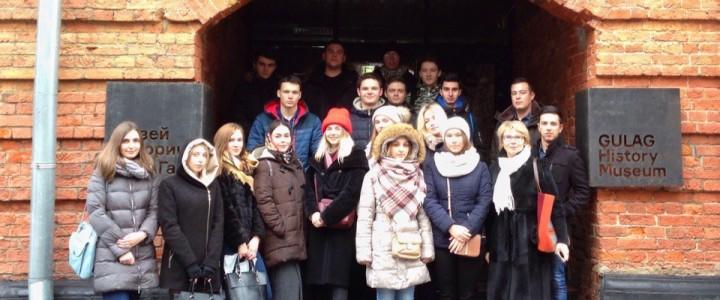 Студенты ИСГО в Государственном музее истории ГУЛАГа
