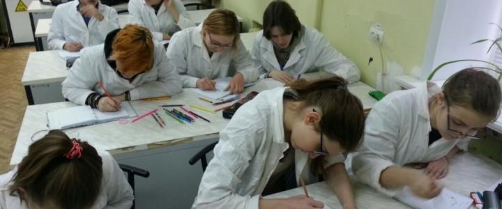 Занятие в рамках сетевого взаимодействия с гимназией № 1590 имени Героя Советского Союза В.В. Колесника