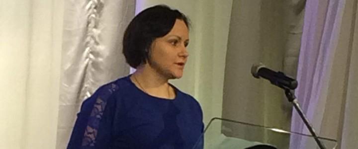 Н.А.Кукина, аспирант кафедры ТМОИ,  победитель Международной ярмарки социально-педагогических инноваций