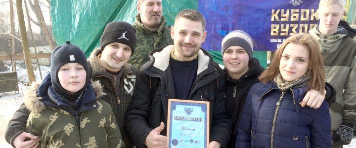 ИСГО МПГУ бронзовый призёр на Кубке ВУЗов по пейнтболу!