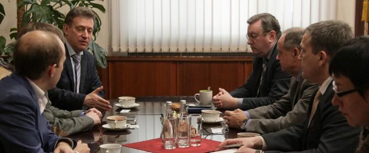 В МПГУ прошла встреча представителей трех известных российских университетов