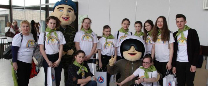 Эстафета живых дел: МПГУ на первом съезде волонтерского движения Москвы
