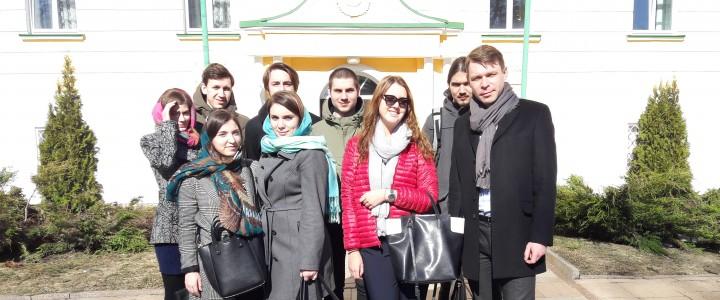 Институт истории и политики в гостях у Московской духовной академии