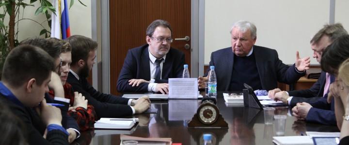 30 марта 2017 г.  Научный семинар с доктором философских наук А.С. Ципко.