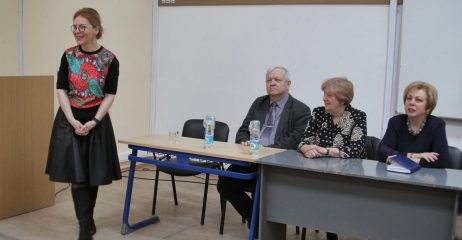 Приветственное слово директора Института иностранных языков Н.И.Замерченко