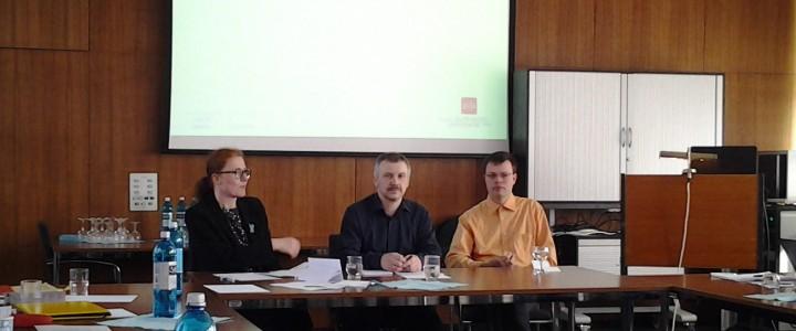 Историк А.А. Орлов выступил с докладом о влиянии британских идей на Россию в XIX в.