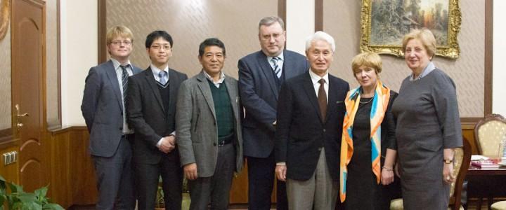 Профессора из университетов Японии в гостях в МПГУ