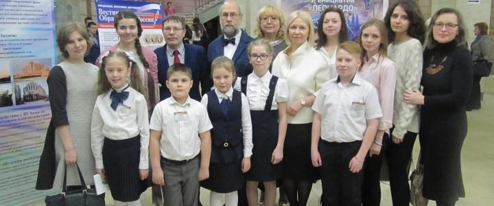 Преподаватели и студенты Института филологии на Всероссийском фестивале творческих открытий и инициатив «Леонардо»