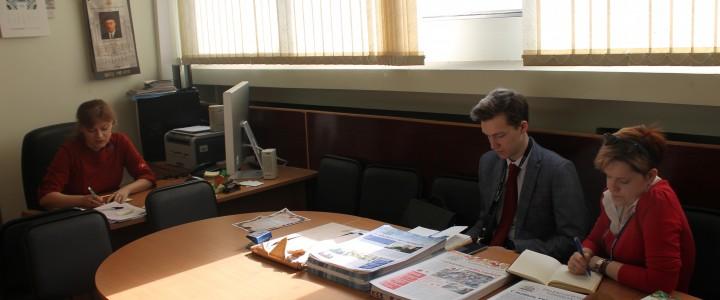 Газета «Педагогический университет» и студенческая пресс-служба ИИиП будут тесно сотрудничать