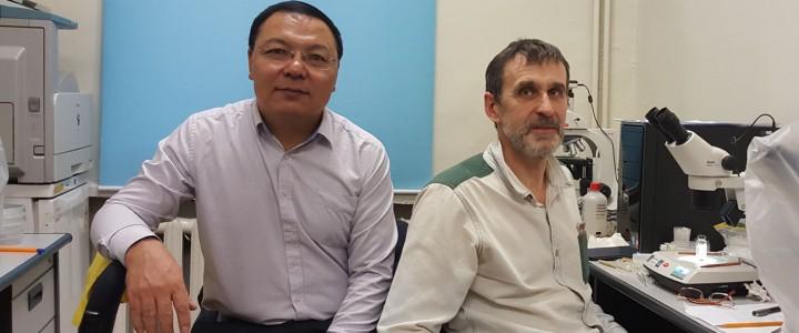 Прошла встреча сотрудников УНЦ Экологии и биоразнообразия с деканом факультета Естественных наук государственного университета Монголии
