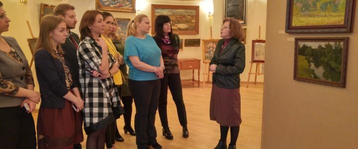 Открыты посещения картинной галереи музея МПГУ