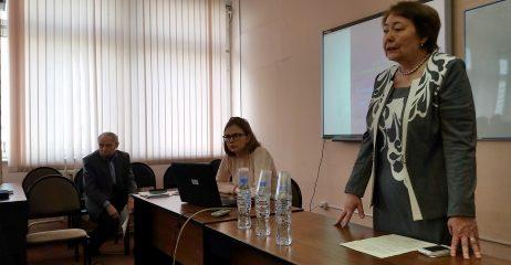 Приветственное слово проф.Мурадовой Л.А.