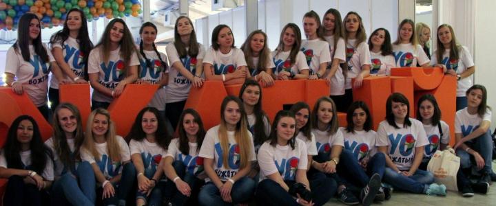 """Репортаж о первом выпуске газеты """"Вожатский корпус МПГУ"""""""