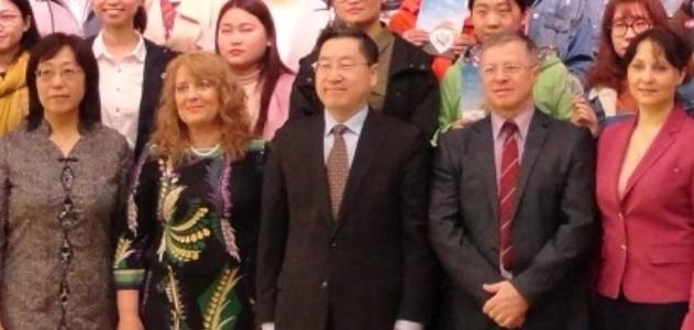Третья ежегодная Олимпиада по русскому языку в Китае