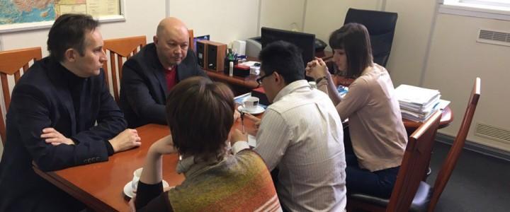 Встреча с представителем Нанкинского университета
