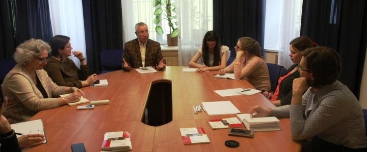 Магистранты кафедры ЮНЕСКО по медиаобразованию в гостях у Программы ЮНЕСКО «Информация для всех»