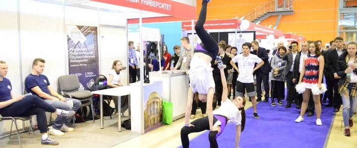 Институт физической культуры, спорта и здоровья принял участие в Московском Международном салоне образования