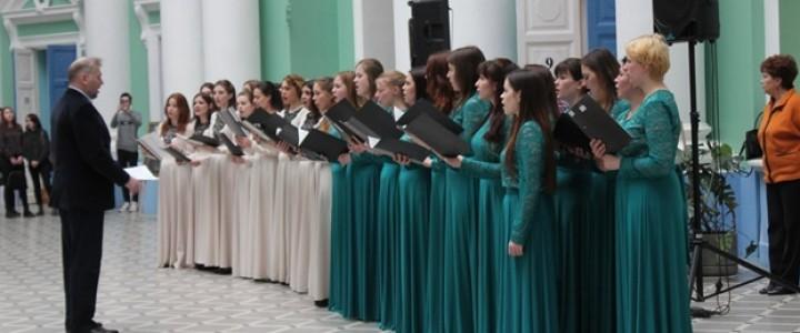 Географический факультет МПГУ присутствовал на  Пасхальных встречах с прекрасным в рамках Фестиваля весны на Пироговке