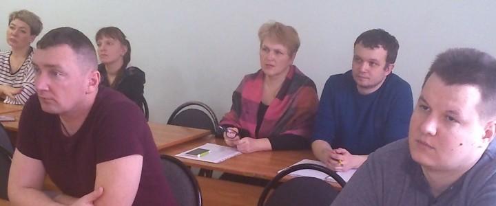 Очередная встреча с магистрантами Московской духовной академии