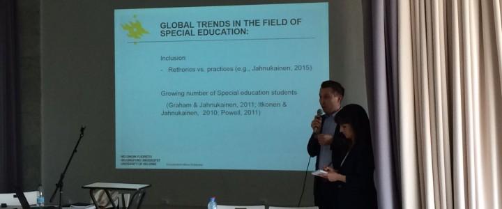 Преподаватель Университета Хельсинки Генри Песонен в гостях на кафедре олигофренопедагогики и специальной психологии
