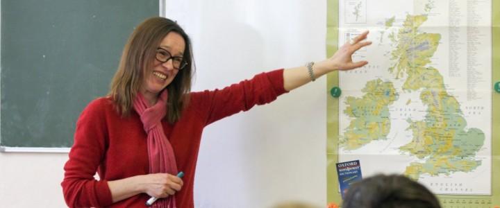 На географическом факультете прошла встреча с Лилей Кутузовой