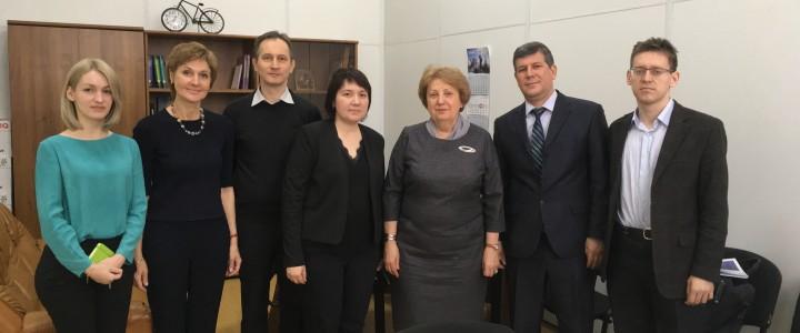 В МПГУ состоялась встреча с руководством казахского вуза