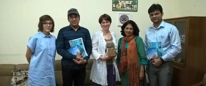 МПГУ принял участие в международной образовательной выставке в Индии