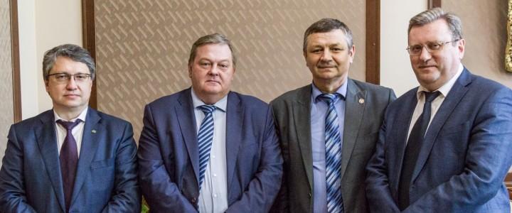 Ректор МПГУ провел встречу с первым заместителем министра образования Донецкой народной республики
