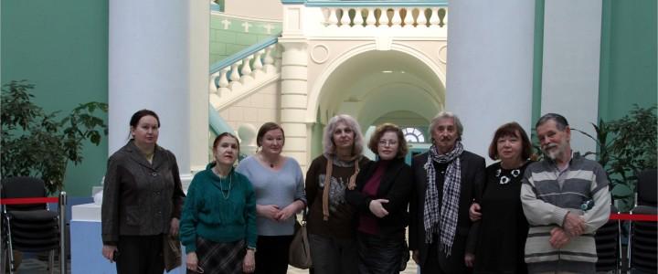 28 апреля 2017 г. Общество друзей Государственного исторического музея на экскурсии в МПГУ.