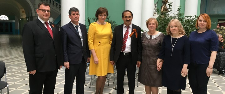 Дан старт образовательному сотрудничеству МПГУ с Курган-Тюбинским государственным университетом имени Носира Хусрава
