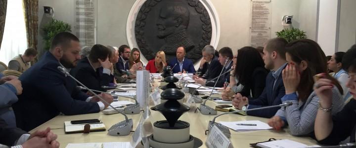 Заседание Круглого стола на тему «Неформальные молодежные криминализированные движения: проблемы и пути решения» в Общественной палате РФ