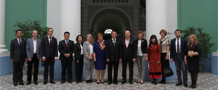 Делегация Северо-Восточного педагогического университета (КНР) в МПГУ