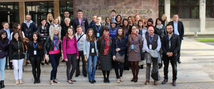 Erasmus Staff Training Week в Румынии, университет Вест, г. Тимишоары