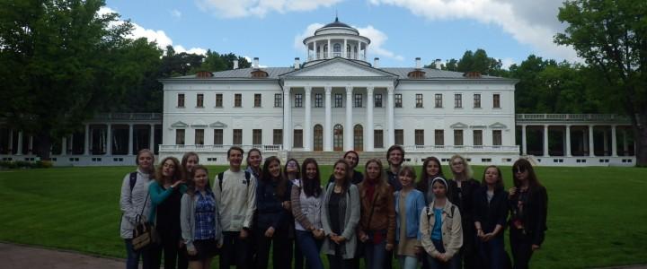 Студенты МПГУ в Остафьево на «Русском Парнасе»