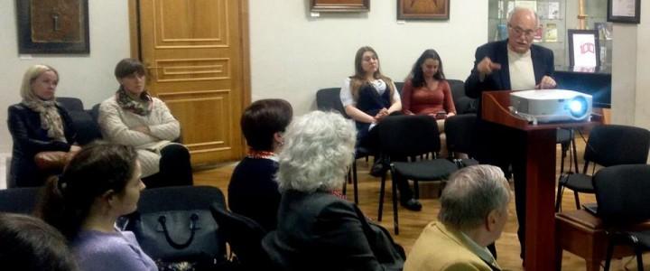 В Чеховской библиотеке прошло завершающее сезон заседание клуба интеллектуальных разговоров «Медиатория»
