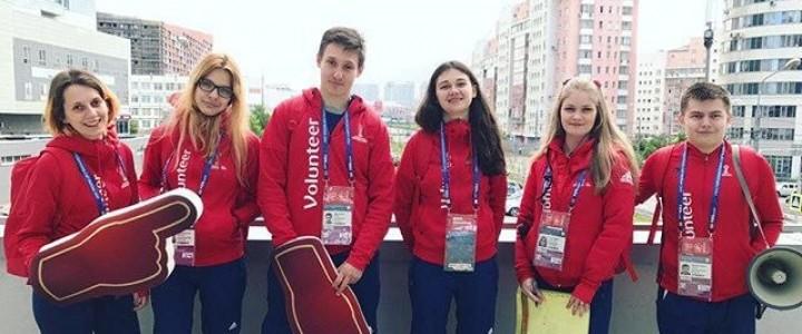 Волонтеры МПГУ готовятся встречать Кубок Конфедераций-2017