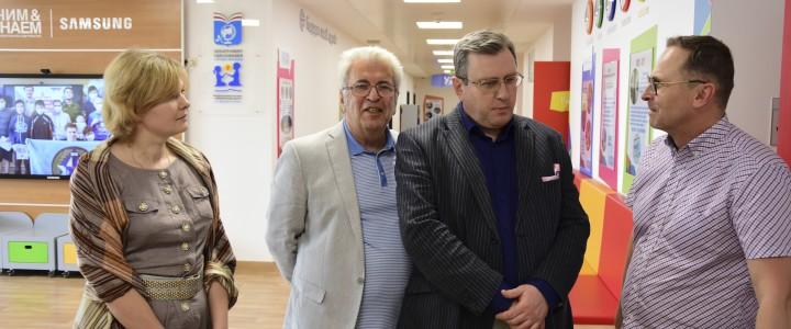 Ректор МПГУ принял участие в обсуждении проблем госпитальной педагогики