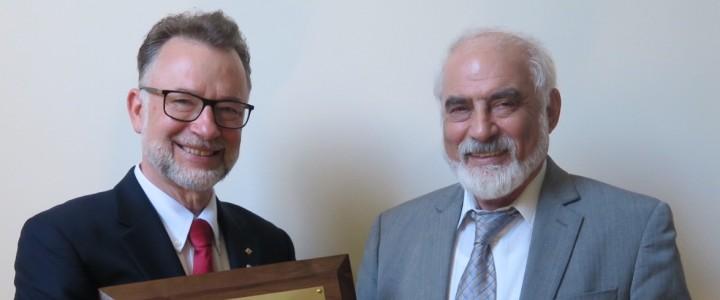 Поздравляем выдающегося ученого МПГУ Григория Наумовича Гольцмана