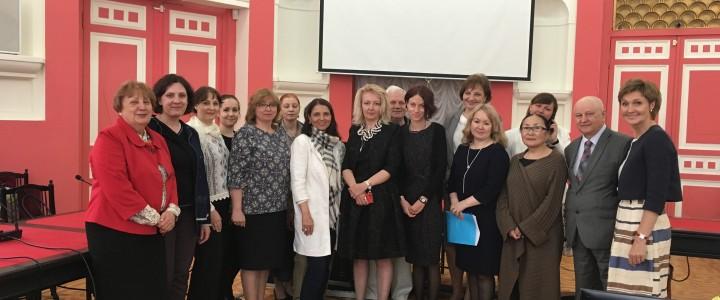 В МПГУ прошел круглый стол по вопросам международно-образовательного сотрудничества с участием ученых-славистов