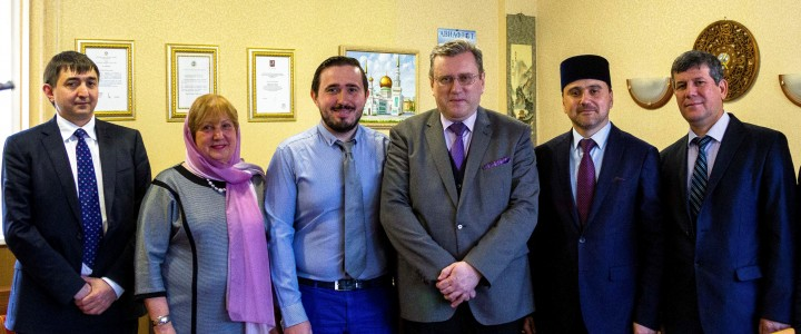 Ректор МПГУ провел встречу с заместителем Председателя Совета муфтиев Российской Федерации