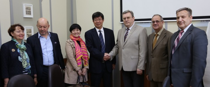 20 июня 2017 г. Визит делегации Шэньсийского Педагогического Университета (КНР) в МПГУ
