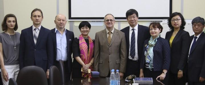 Визит делегации Шэньсийского Педагогического Университета (Китай) в МПГУ