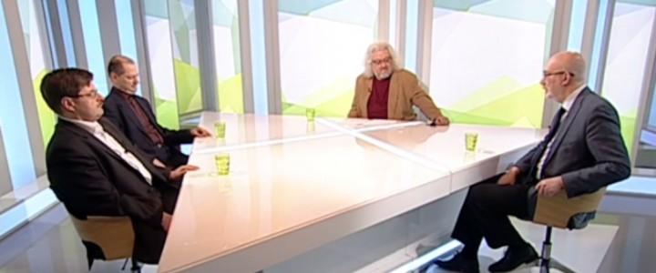 Профессор МПГУ В.Е. Воронин на канале «Культура»