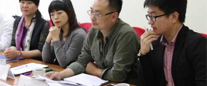 Встреча с делегацией Сычуаньского Педагогического Университета