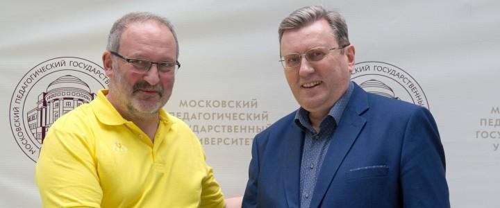 Ректор МПГУ провел встречу с директором «Московской городской педагогической гимназии-лаборатории»