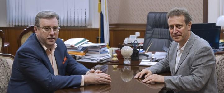 28 июля состоялась встреча ректора МПГУ А.В. Лубкова и ректора РГГУ Е.Н. Ивахненко