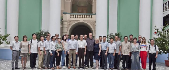 Визит делегации Аньхойского университета